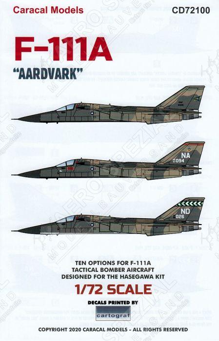 CD72100 F-111A Aardvark