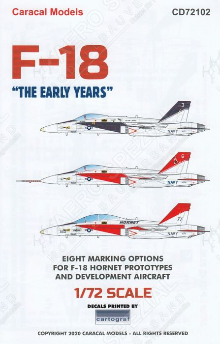 CD72102 F-18 Hornet - The Early Years