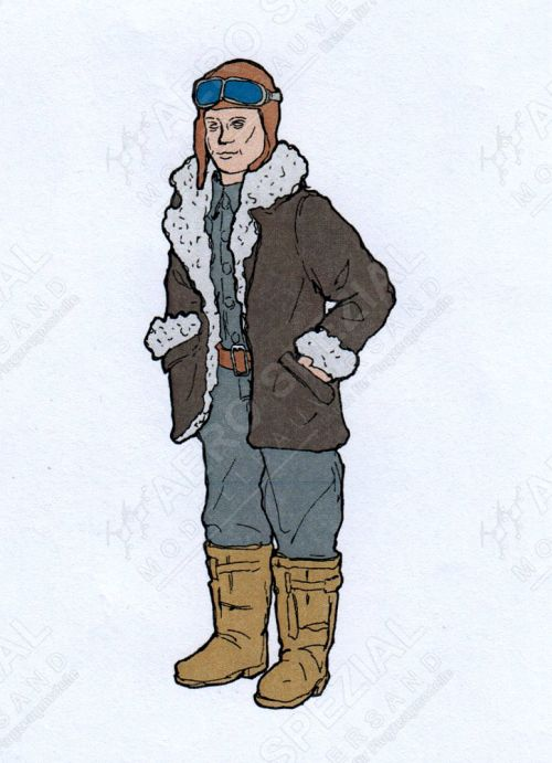 AB32147 Pilot Germany/Austria-Hungary WW I (Winter Edition)