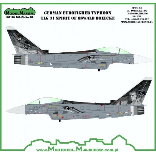 MOD48096 Eurofighter Spirit of Oswald Boelcke