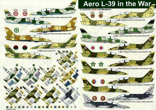 DPC48016 L-39 Albatros in the War