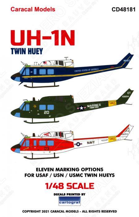CD48181 HH-1N & UH-1N Twin Huey