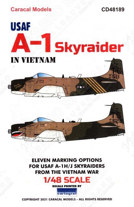 CD48189 A-1 Skyraider U.S. Air Force in Vietnam