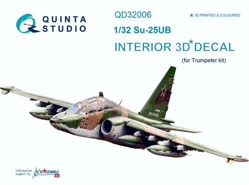 QD32006 Su-25UB Frogfoot-B Cockpit Details