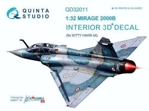 QD32011 Mirage 2000B Cockpit Details