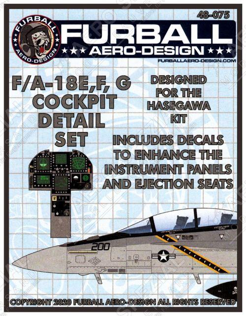 FBD48075 F/A-18E/F Super Hornet & EA-18G Growler Cockpit Details