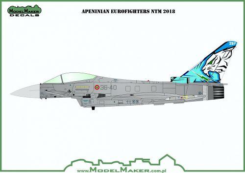 MOD72145 Eurofighter F-2000A NATO Tiger Meet 2018
