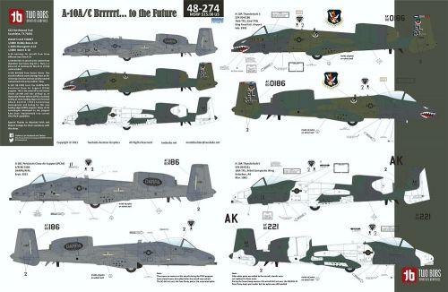TB48274 A-10A/C Thunderbolt II