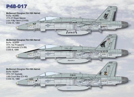 CPS4817 F/A-18A Hornet