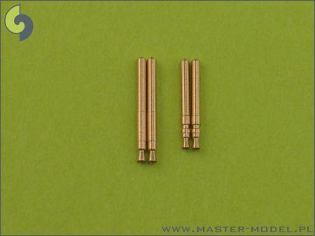 AM72009 MG FF (20 mm) Barrels and MG 17 Barrel Tips (7.92 mm)
