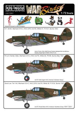 KW172051 P-40B Warhawk/Tomahawk Mk.IIB