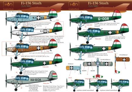 HU48085 Fi 156 Storch Hungarian Air Force