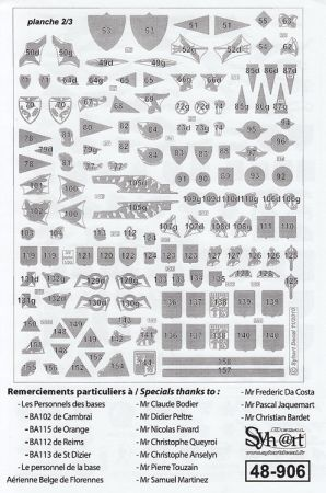 SY48906 French Air Force Badges, 1995-2010