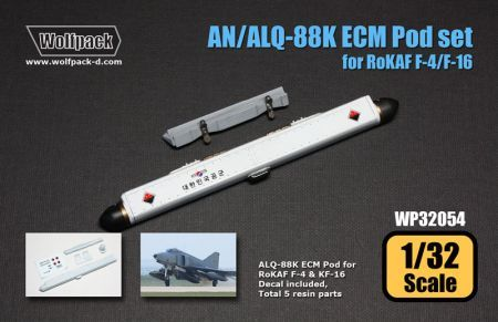 WP32054 AN/ALQ-88K ECM Pod for F-4 Phantom II & KF-16 Fighting Falcon, RoKAF