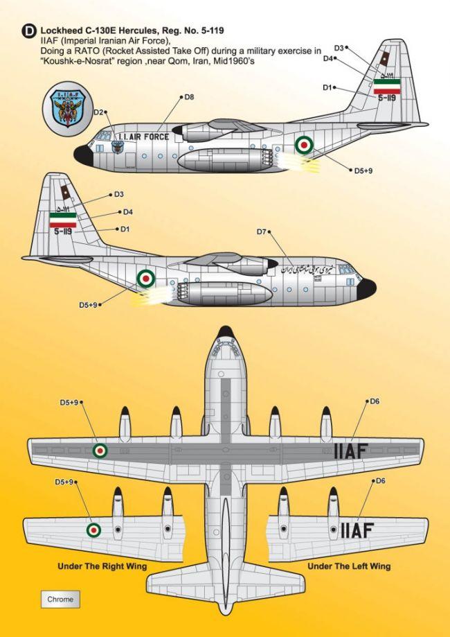 KMA14417 C-130 Hercules Iranian Air Force