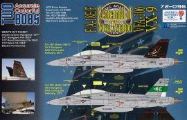 TB72096 F/A-18E/F Super Hornet VFA-106 & VX-9