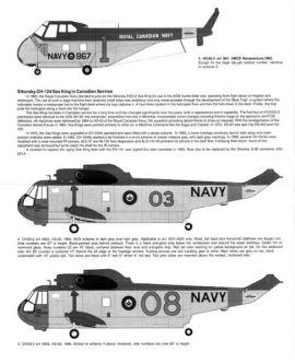 BED48028 Chickasaw & Sea King Kanadische Marine