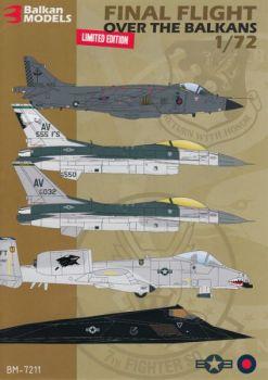 BM7211 NATO Final Flights over the Balkans