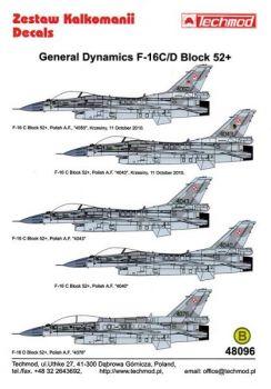 TMD48096 F-16C/D Block 52+ Fighting Falcon polnische Luftwaffe