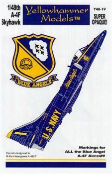 YHD4819 A-4F Skyhawk: Blue Angels, 1974-1986