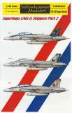 YHD4834 F/A-18F Super Hornet VFA-11 Red Rippers & VFA-213 Black Lions