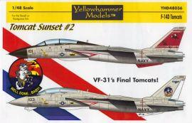 YHD4836 F-14D Super Tomcat VF-31 Tomcatters, Tomcat Sunset #2