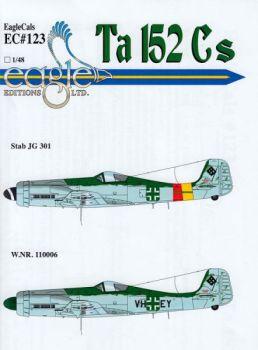 ECD48123 Ta 152 C & Ta 152 C-1/R31 JG 301