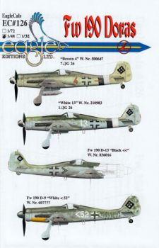 ECD48126 Fw 190 D-9 & Fw 190 D-13 JG 26 & JG 101