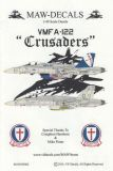 MWD4803 F/A-18C Hornet CO jet VMFA-122 Crusaders