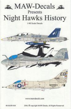 MWD4804 F/A-18D Hornet, A-6E TRAM Intruder & A-4B Skyhawk U.S. Marines