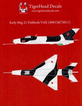 THD7211 MiG-21F-13 Fishbed-C Rumänien, Tschechoslowakei, Sowjetunion, Syrien