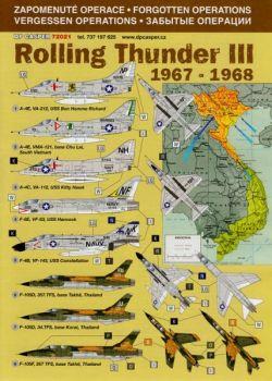 DPC72021 Vergessene Operationen: Rolling Thunder III, Indochina, 1967-1968