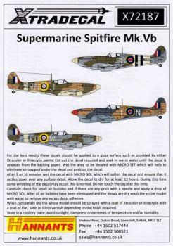 XD72187 Spitfire Mk.Vb