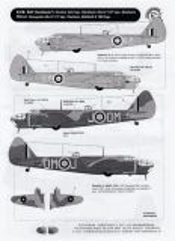 DDK4808 Blenheim, Mitchell, Mosquito & Boston RAF