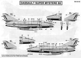 BD48100 Super Mystère B.2 Stencils