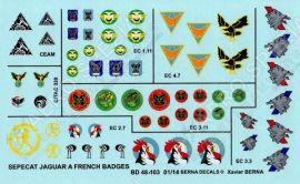 BD48103 Jaguar A & E French Air Force Squadron Badges #1