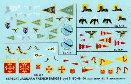 BD48104 Jaguar A & E French Air Force Squadron Badges #2