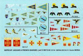 BD72084 Jaguar A & E Staffelwappen französische Luftwaffe #2
