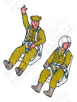 AB48082 Pilot und Fluglehrer T-28B Trojan U.S. Air Force Vietnamkrieg 1960-1975