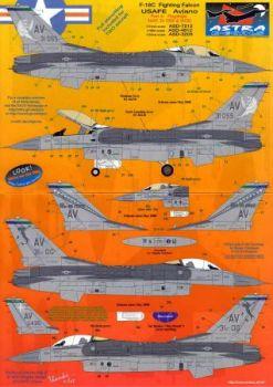 ASD7212 F-16C Fighting Falcon