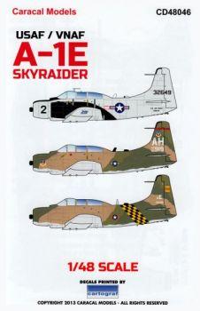 CD48046 A-1E Skyraider U.S. Air Force & Vietnam Air Force