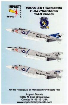IHD4803 F-4J Phantom II VMFA-451 Warlords