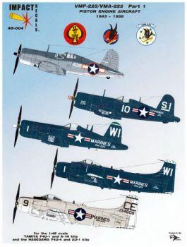 IHD4804 Corsair & Skyraider VMF-225/VMA-225 Skyhawks