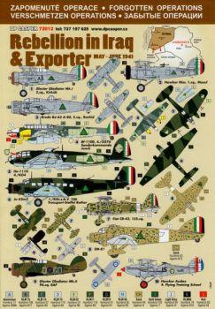 DPC72012 Vergessene Operationen: Rebellion im Irak & Exporter, Mai-Juni 1941