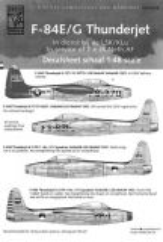 DDS4812 F-84E/G Thunderjet, niederländische Luftwaffe