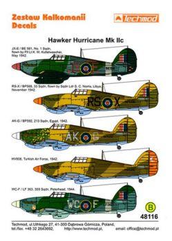 TMD48116 Hurricane Mk.IIc RAF, polnische und türkische Luftwaffe