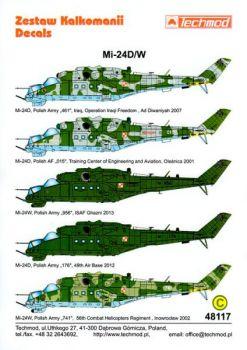 TMD48117 Mi-24D/W Hind-D/E polnische Heeresflieger
