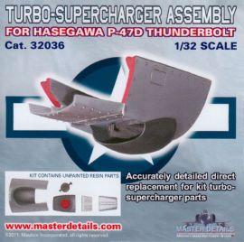 MD32036 P-47D Thunderbolt Abgasturbolader
