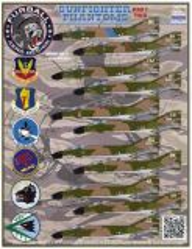 FBD48030 F-4C/D Phantom II 35th & 366th TFW Da Nang AB Vietnam, Part 2