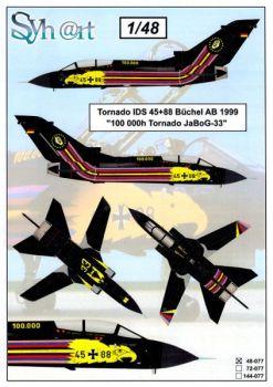 SY48077 Tornado IDS Sonderanstrich 100.000 Flugstunden JaboG 33